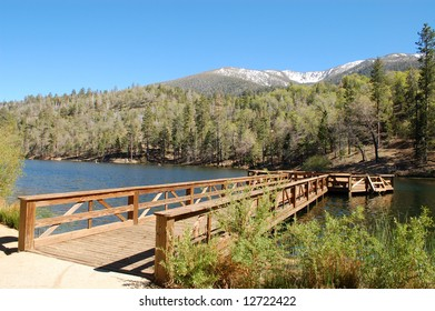 Mountain lake; San Bernardino, California