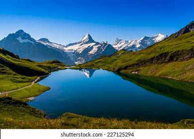 Mountain Lake - Switzerland