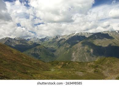 mountain landscape of Altai