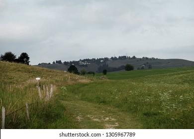 Mountain Landscape, Asiago, Vicenza, Veneto, Italy - Autumn 2018