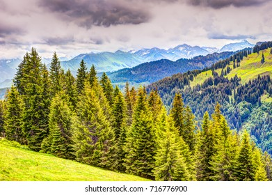 Mountain landscape in the Allgäu (Bavaria, Germany)