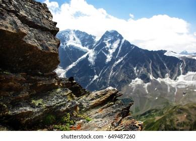 mountain landscape  , beautiful nature  background