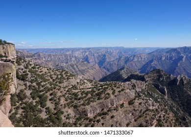mountain landscape creel Mexico view