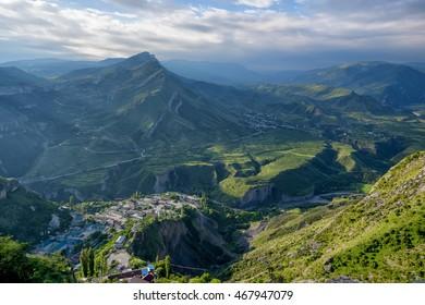 Mountain landscape in Dagestan