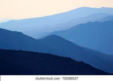 Mountain landscape, Death Valley National Park, California, USA