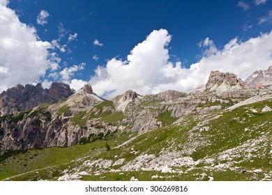 Mountain Landscape - Dolomiti, Italy