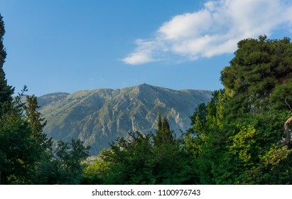 Mountain Landscape During Summer