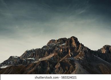 mountain landscape - italian dolomites