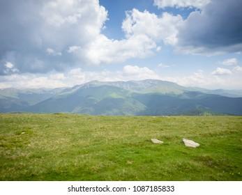 Mountain landscape - Muntele Mic, Retezat-Godeanu - Romania