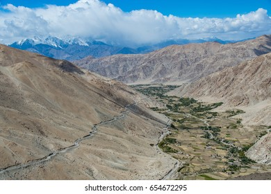 mountain landscape, northern India