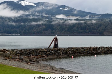 Mountain landscape in Oregon