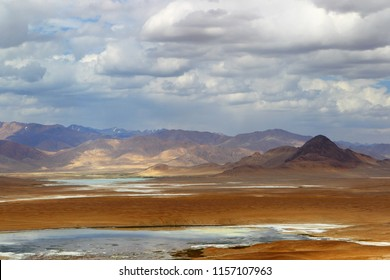 Mountain landscape. Pamir. Tajikistan
