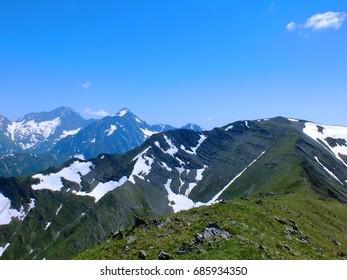Mountain landscape photo art
