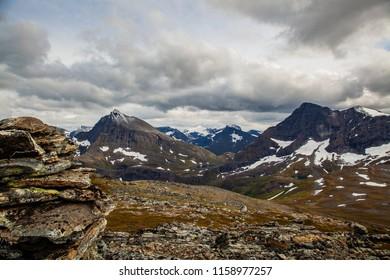Mountain landscape in Romsdal, Norway