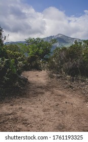 Mountain landscape trekking in Andalusia, Spain