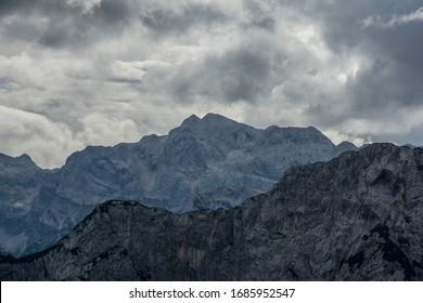 Mountain Landscape View Vršič Pass
