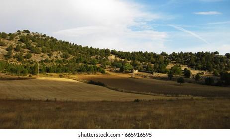 Mountain landscapes.