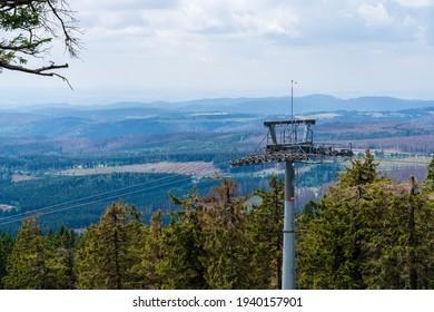 Bergsteigbäume Wandersaxoniedeutschland