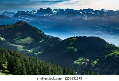 mountain in Luzern Switzerland