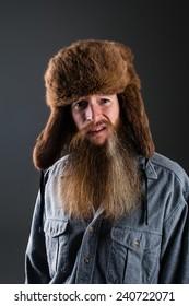Mountain man with great beard
