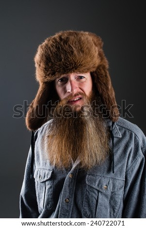 Mountain man with great beard