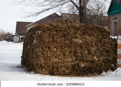 mountain of manure