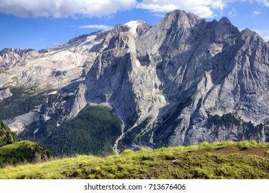Mountain Marmolada, Dolomites Alps, Italy