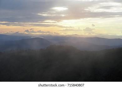 Mountain Misty