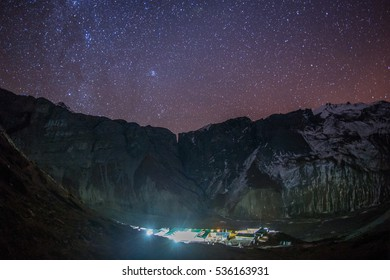 Mountain night landscapes