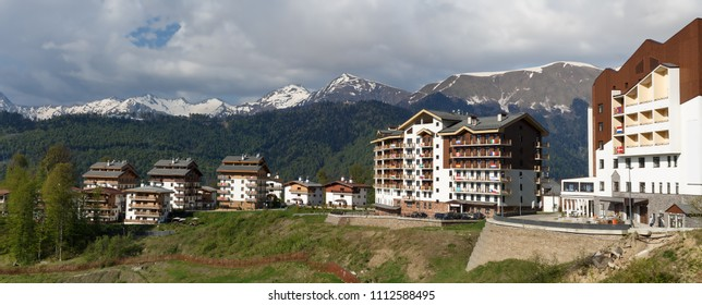Mountain Olympic village in Sochi, Russia