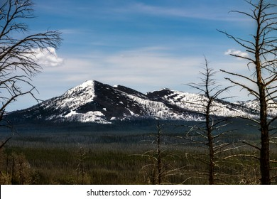 Mountain Over The Forest