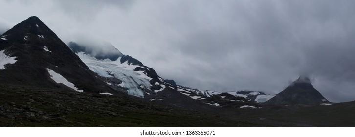 Mountain Panorama, Jotunheimen Park, Norway