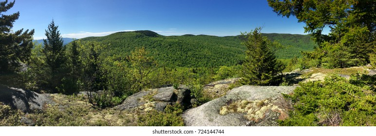 Mountain Panorama in New Hampshire