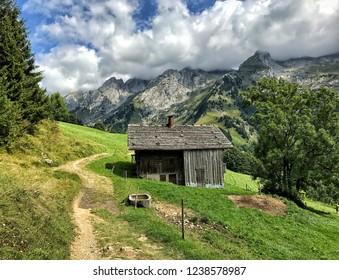 Mountain pastures, les Aravis, La Clusaz
