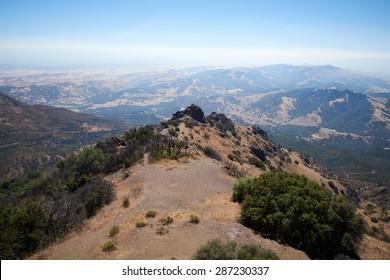 Mountain and peak