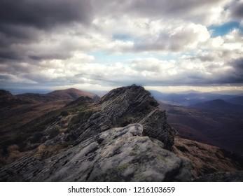 Krzemień Mountain Peak, Bieszczady Mountains