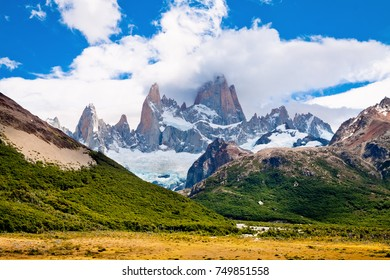 Mountain peak Fitzroy. Andes. Argentina.