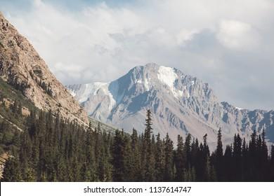 mountain peak wilderness