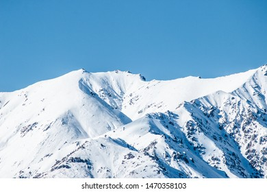 Mountain Peaks, Snow Capped Mountains, Winter Landscape, Mountain Range In Canterbury New Zealand Southern Alps, High Altitude Rocky Mountains Scenic View, Natural Luxury Beauty In Nature