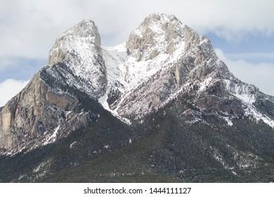 Mountain Pedraforca in the  pre-pyrenees