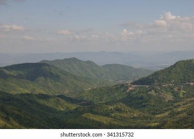 Mountain  at Phu Tubberk in Thailand