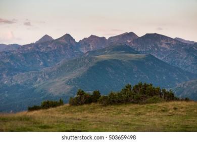 Mountain of Pyrennees, Aston, Ariege, France
