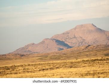 Mountain range Bektau- Ata. Tract Bektau- Ata. Central Asia Kazakhstan.