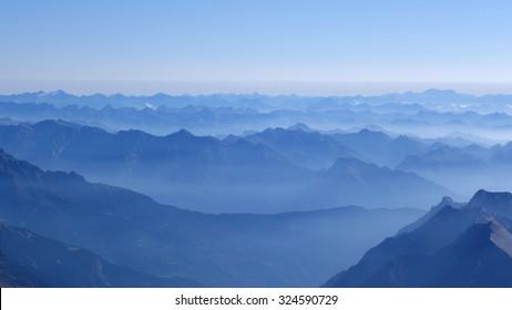 Mountain Range Horizon