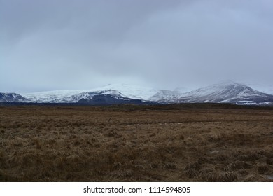 A mountain range in Iceland