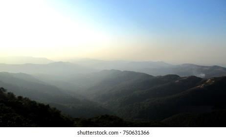 Mountain Range in Maharashtra