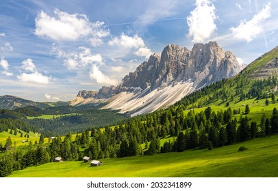 Mountain range in the valley. Beautiful mountain valley panorama. Mountain valley landscape. Mountain panoramic landscape