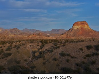 Mountain Ranges at Big Bend National Park, Texas, USA