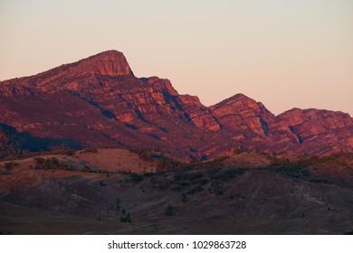 The mountain ranges of Flinders Range-Ikara National Park