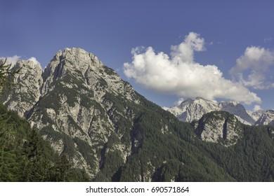 Mountain Razor in Julian Alps, Slovenia